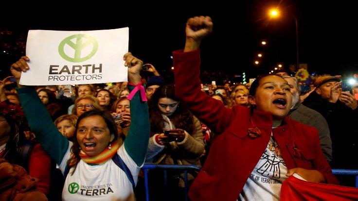 Madrid'den siyasetçilere iklim çağrısı: Harekete geçin