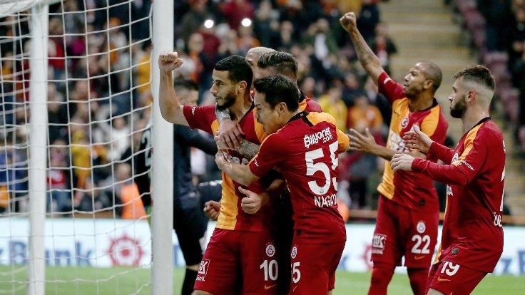Galatasaray, Belhanda'yla kazandı