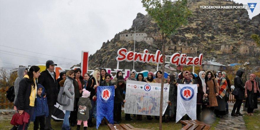 Girişimci kadınlar Çukurca'yı gezdi
