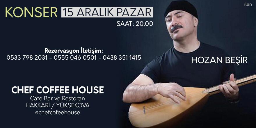 Yüksekova'da Hozan Beşir Konseri