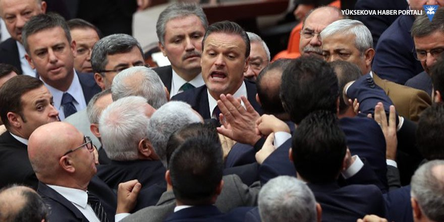 Meclis'te 'anırıyorsunuz' kavgası