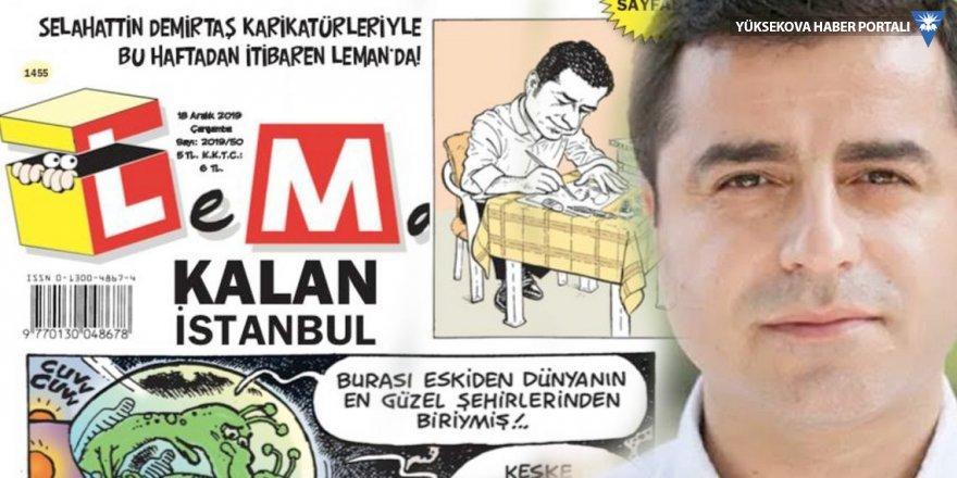 Demirtaş Leman dergisi için çizecek