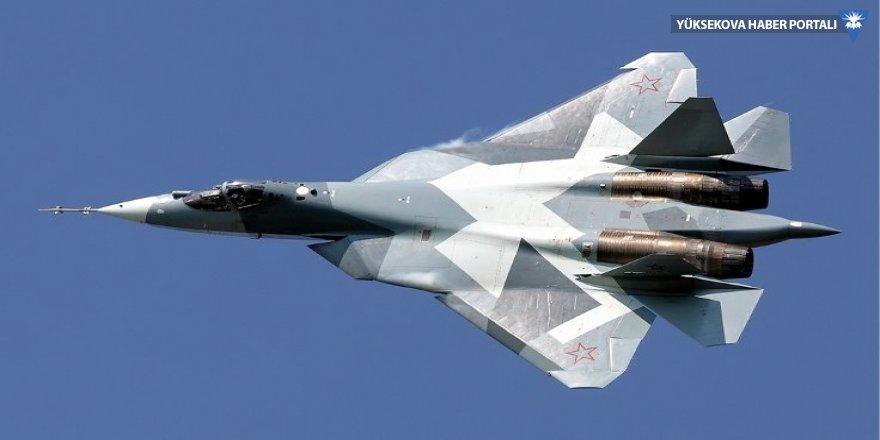 Rusya'da Su-57 düştü