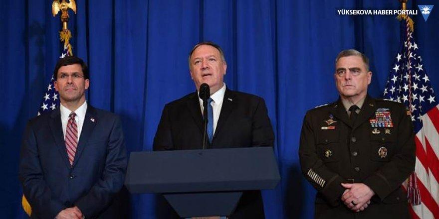 Pompeo: İran'a net bir cevap verildi