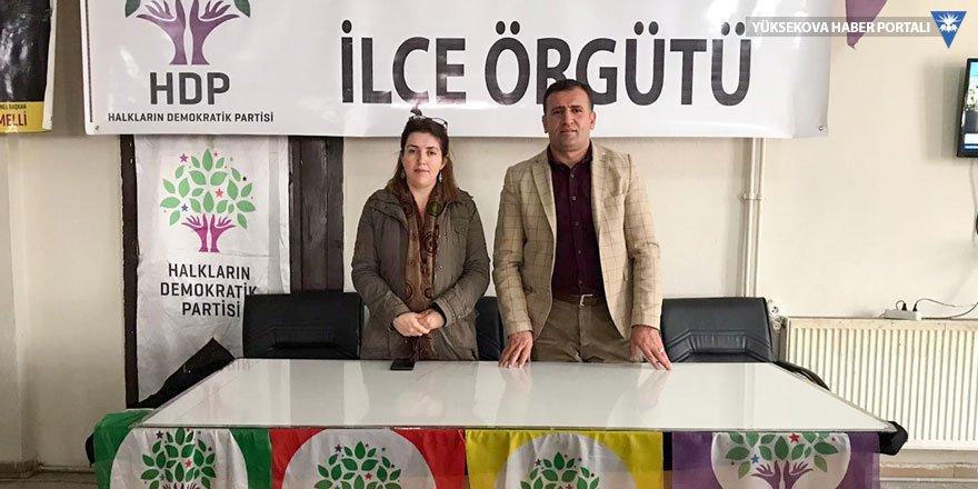 HDP Yüksekova İlçe Başkanlığı'ndan yeni yıl mesajı