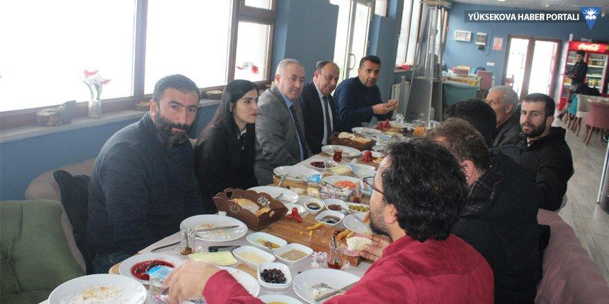 YÜTSO'dan basına yılsonu kahvaltısı