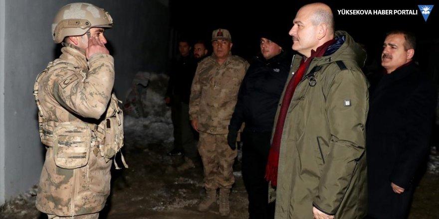 İçişleri Bakanı Soylu, yeni yıla Hakkari'de girdi
