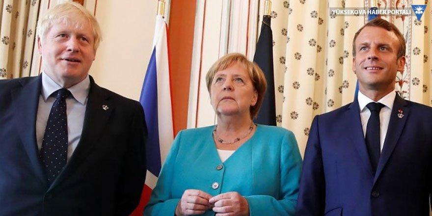 Merkel, Macron ve Johnson'dan ortak Süleymani açıklaması: Gerilimin acilen düşmesi gerek