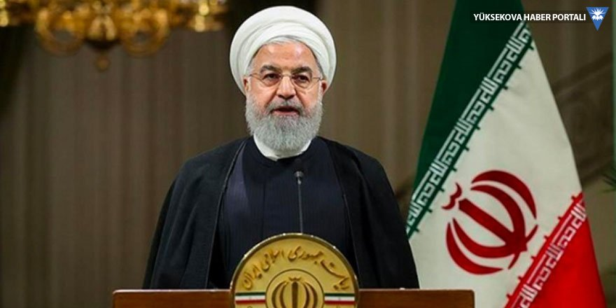 Ruhani: İran en zorlu yılını yaşıyor