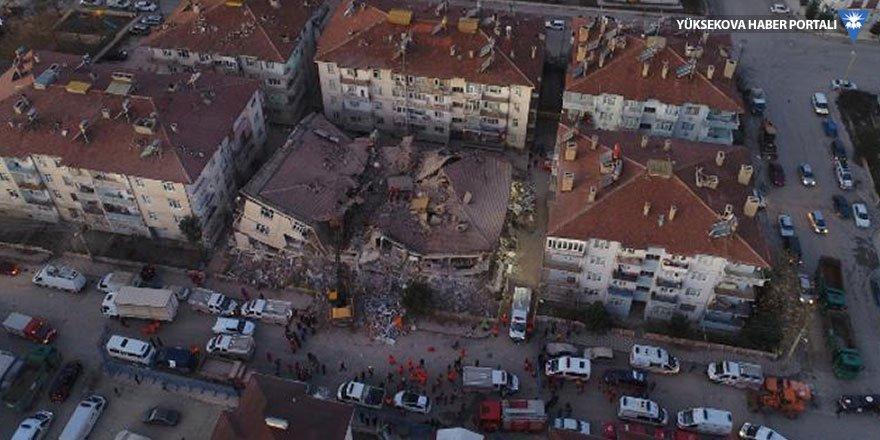 Deprem bölgesinden fotoğraflar