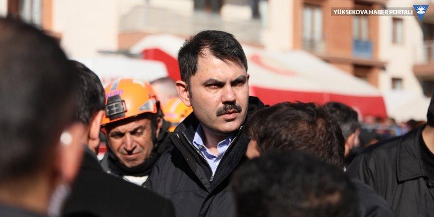 Bakan Kurum: Elazığ'da yüzde 40 hasar tespitlerini tamamladık