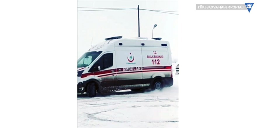 Ambulansla drift atan sürücü görevden uzaklaştırıldı