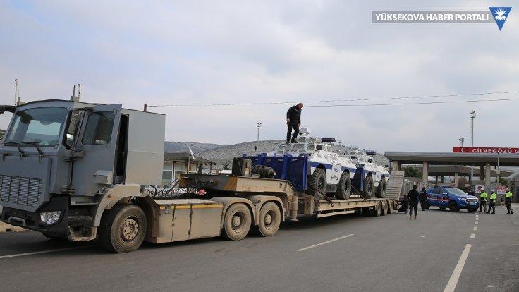 Suriye sınırına TOMA sevkiyatı
