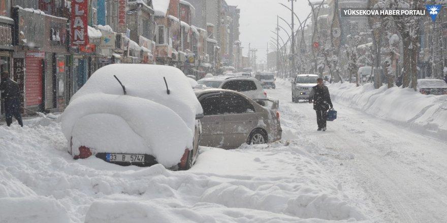 Yüksekova'da 62 köy ve 115 mezra yolu ulaşıma kapandı