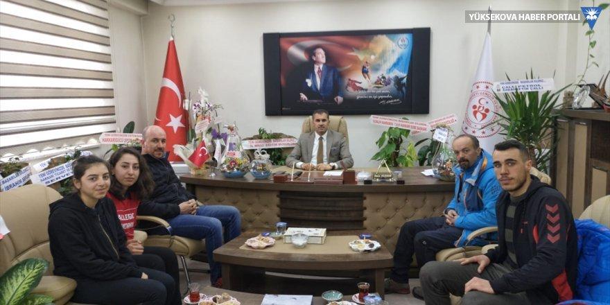 Yüksekovalı sporcular Bitlis'ten 14 madalyayla döndü