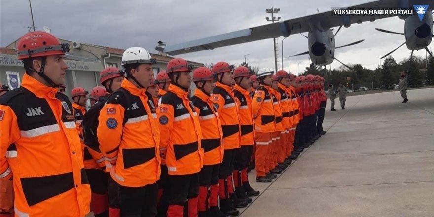 MSB: TSK'ya ait uçak ve arama kurtarma ekipleri Van'a görevlendirildi