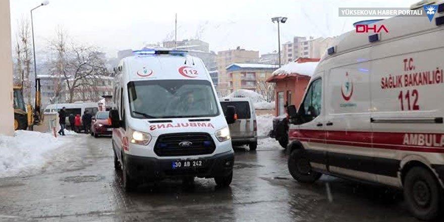 Hakkari'de kaza: 2'si ağır 7 yaralı