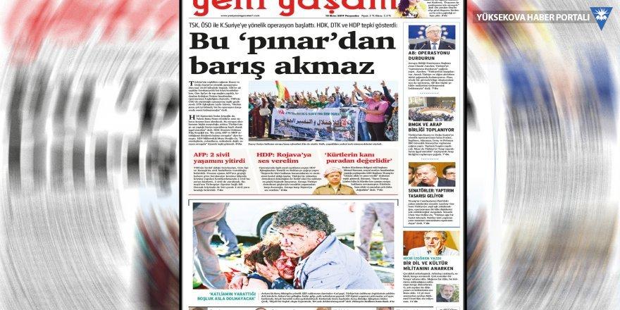 'Bu pınardan barış akmaz' manşetine beraat