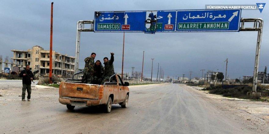 Suriye ordusu M-5 Karayolu'nu aldı