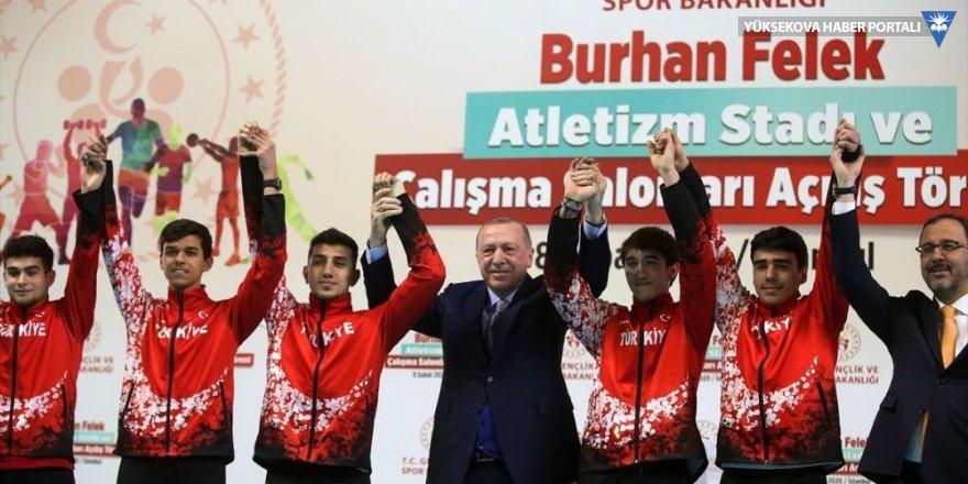 Cumhurbaşkanı Erdoğan: Ülkemizi spor turizminde de dünyanın göz bebeği haline getiriyoruz