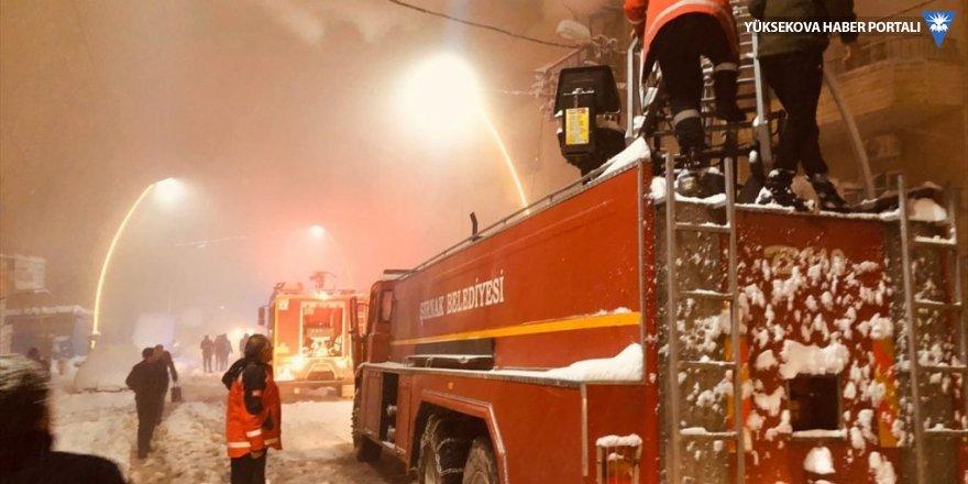 Şırnak'ta çıkan yangında 13 kişi dumandan etkilendi