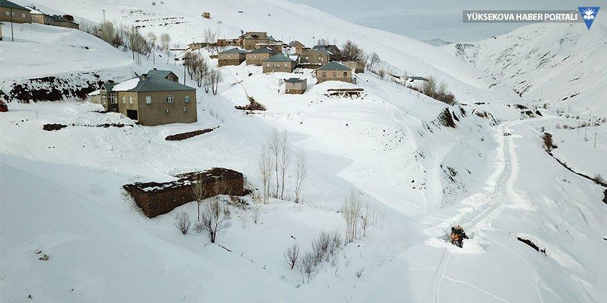 Hakkari'de 166 yerleşim biriminin yolu kapalı