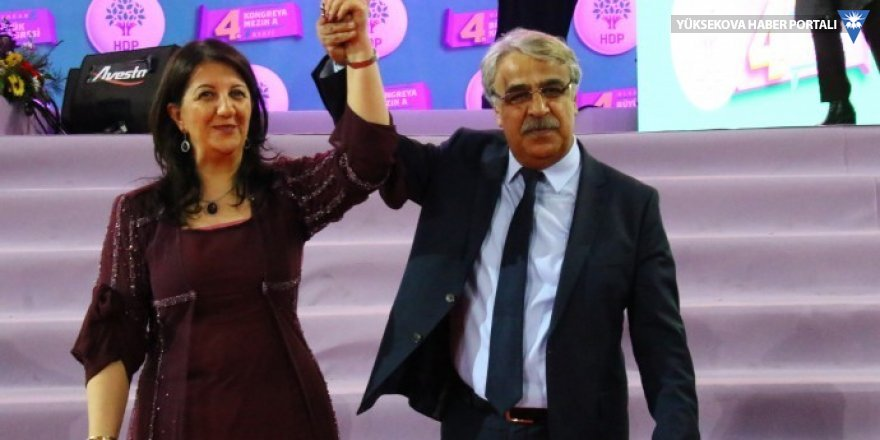 HDP Eş Genel Başkanlığı'na Buldan ve Sancar seçildi