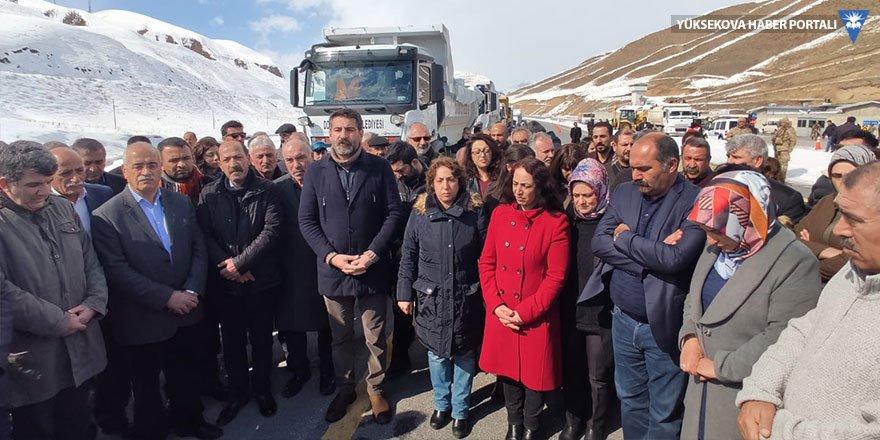 HDP'nin deprem yardımına engel