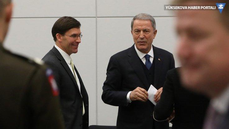 Pentagon: İki bakan İdlib ve Libya'yı görüştü
