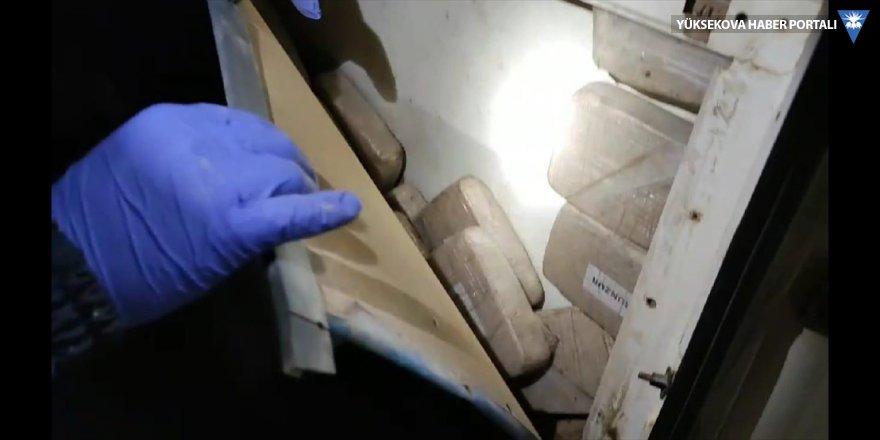 Van'da 37 kilo 780 gram eroin ele geçirildi
