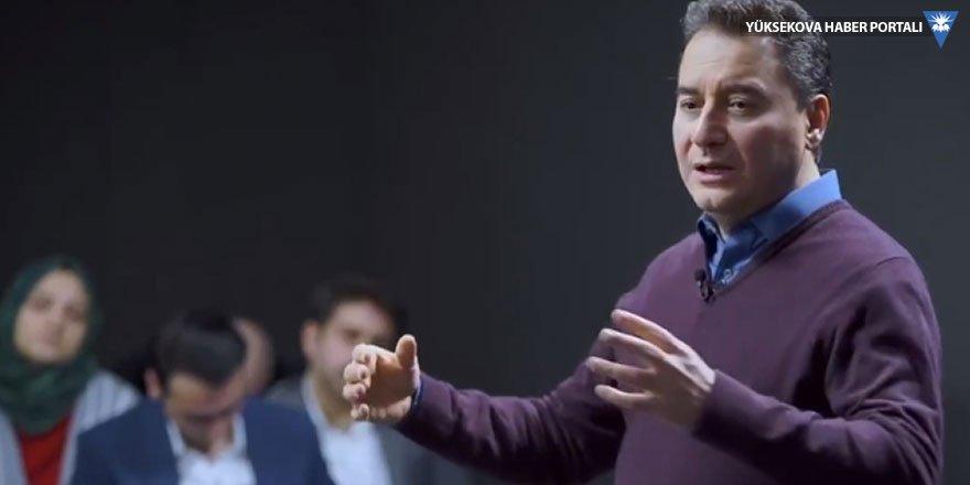 Ali Babacan: Sistem 2023'e kadar dayanmaz
