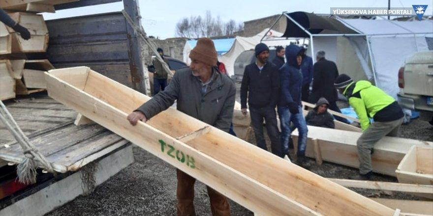 TZOB, Van'daki depremzede besicilere 300 yemlik gönderdi