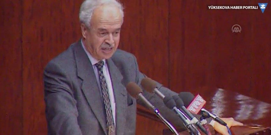 Eski Adalet Bakanı Şevket Kazan öldü