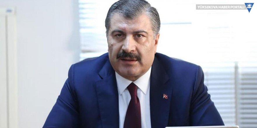 Sağlık Bakanı: Şüpheli bulunanlar gelir gelmez hastaneye kaldırılıyor