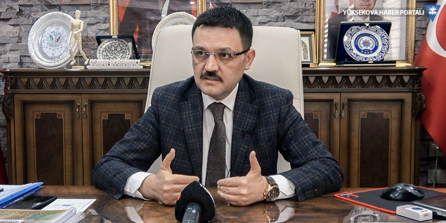 Yüksekova Kaymakamı Doğramacı: Zorunlu olmadıkça dışarı çıkan vatandaşlara yaptırım uygulanacak