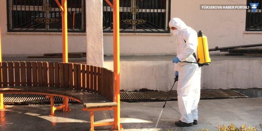 Hakkari'de koronavirüs önlemleri