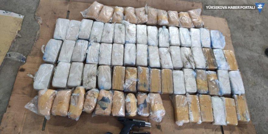 Van'da 35 kilo 320 gram uyuşturucu ele geçirildi