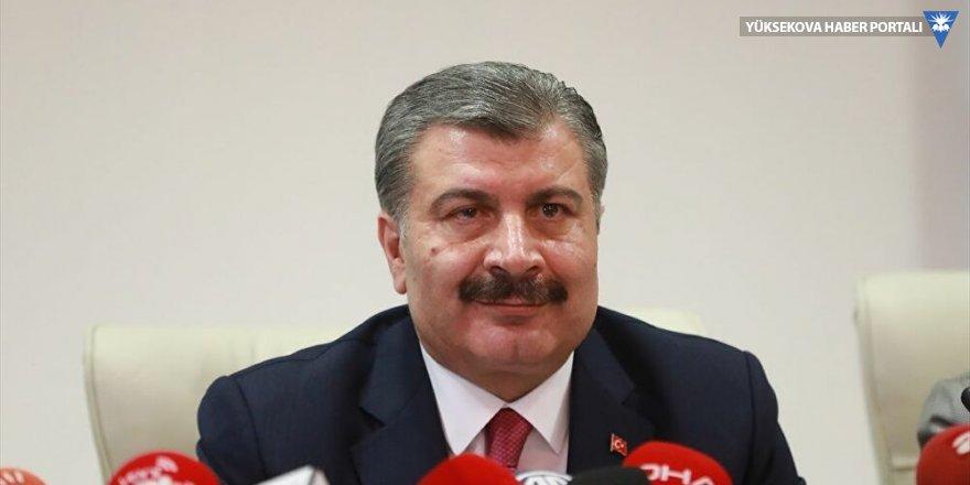 Sağlık Bakanı Koca'dan koronavirüsle ilgili 'gizli' belge iddialarına yalanlama