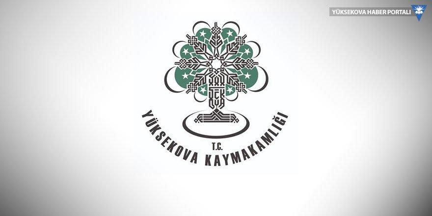Yüksekova Kaymakamlığı'ndan 'taziye' açıklaması