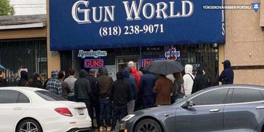 ABD'de silah dükkanlarında korona kuyruğu: Yüzde 179'luk artış