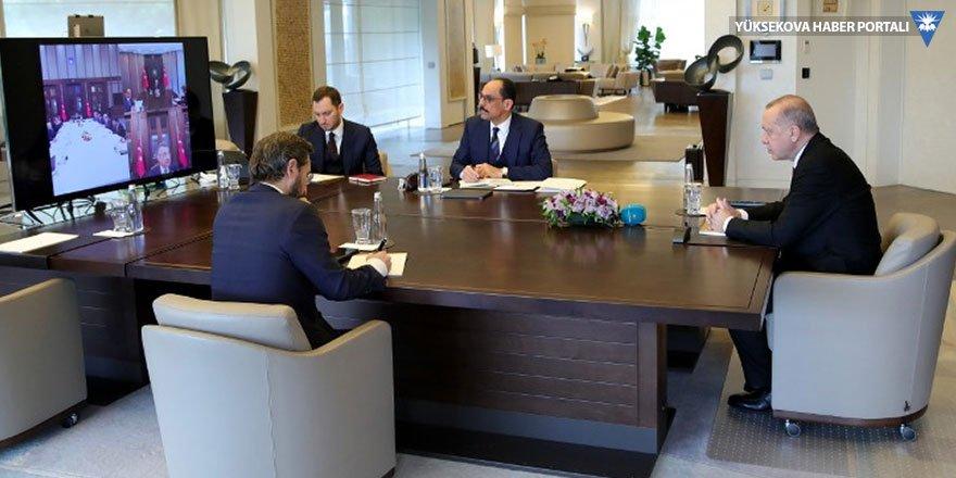 Cumhurbaşkanı Erdoğan'dan infaz yasası toplantısı
