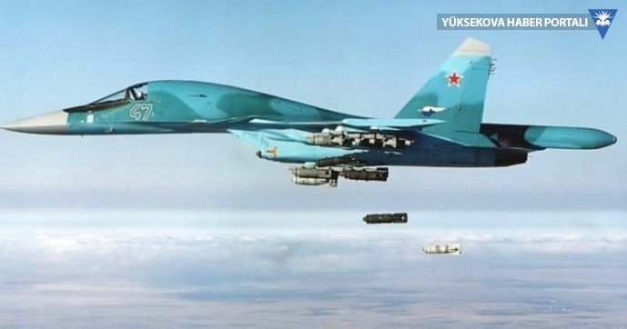 Rus savaş uçağı Karadeniz'de düştü