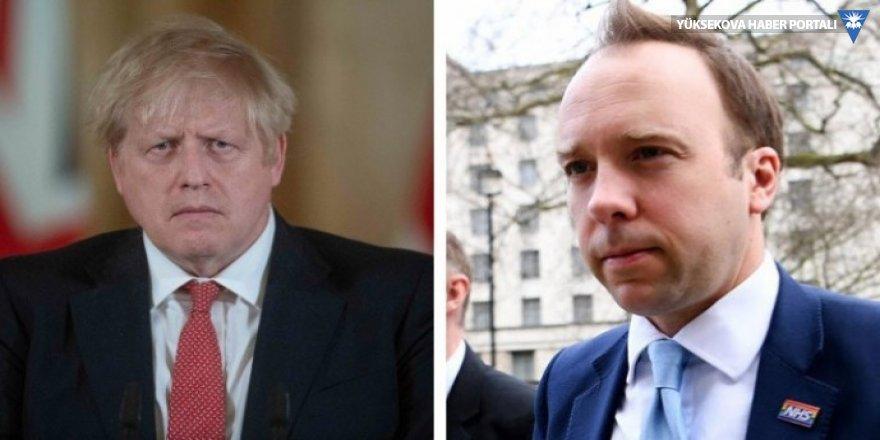 İngiltere'de Başbakanı ve Sağlık Bakanı koranavirüse yakalandı