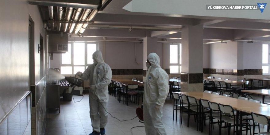 Van'daki cezaevlerinde koronavirüs önlemleri