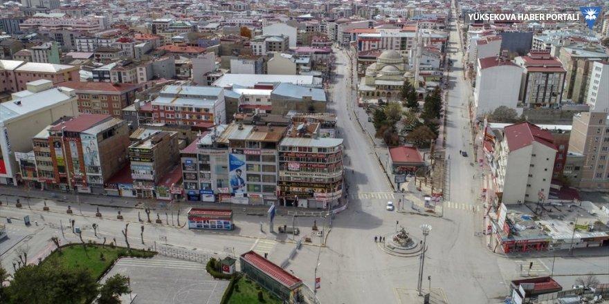 Van'da sokağa çıkma yasağının ikinci gününde de caddeler boş kaldı