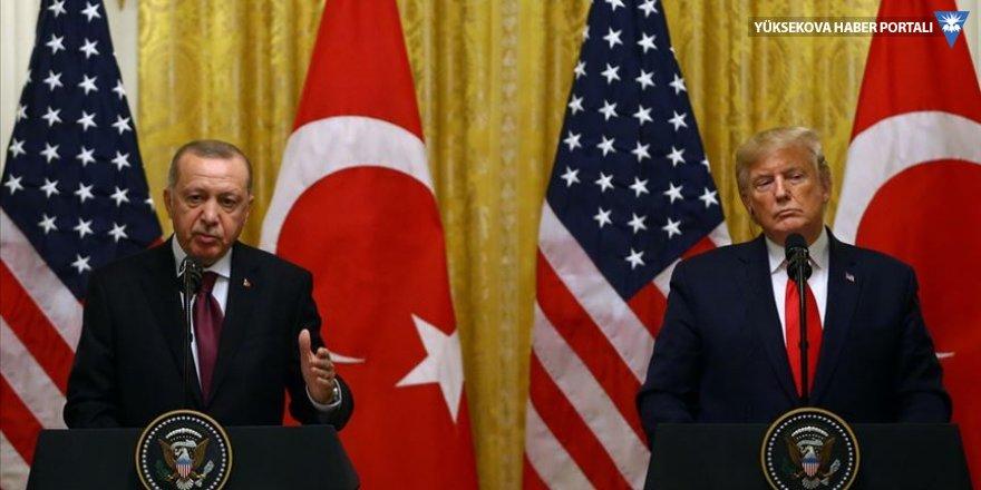 Cumhurbaşkanı Erdoğan ile ABD Başkanı Trump telefonda görüştü