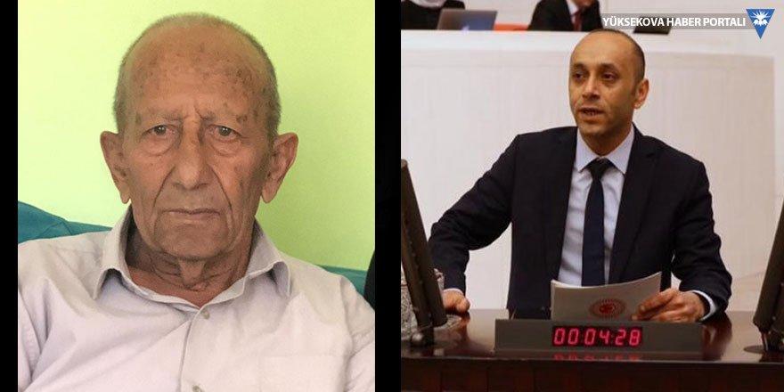HDP Hakkari Milletvekili Dede'nin babası vefat etti