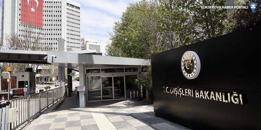 İran Büyükelçisi, Dışişleri Bakanlığı'na çağrıldı
