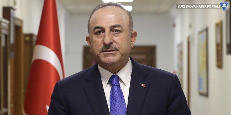 Çavuşoğlu: Türkiye Akdeniz'de geri adım atmadı, Oruç Reis limana bakım ve ikmal için çekildi