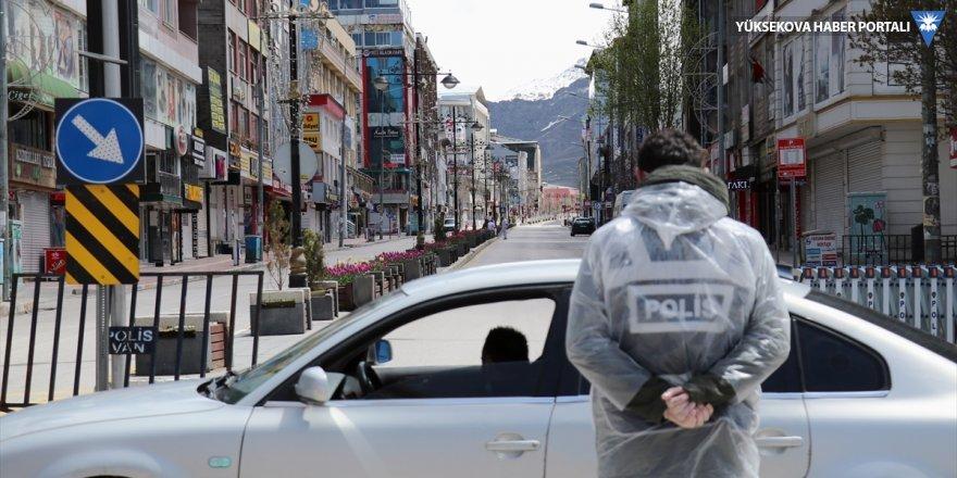 Van'da bazı sokaklar karantinaya alındı